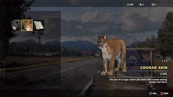 Hunting wild animals in Far Cry 5