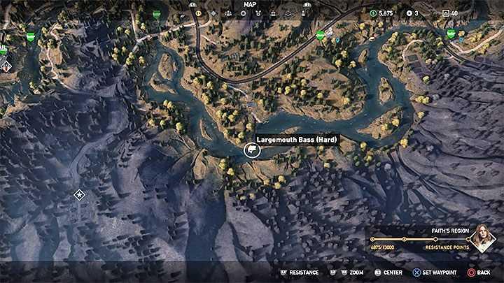 Fishing in far cry 5 game walkthrough sockscap64 for Fishing spots finder