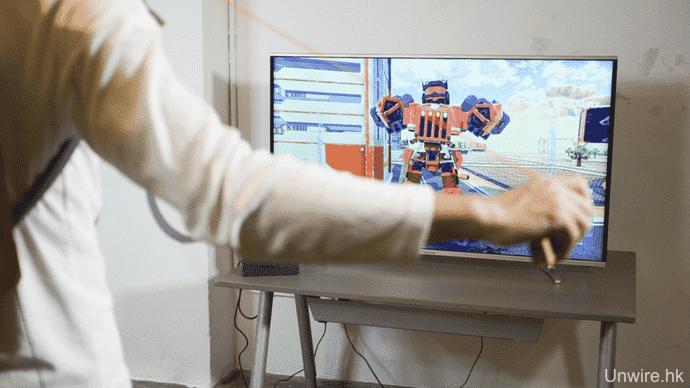 Nintendo LABO香港試玩任天堂Switch紙皮 手+腳體感操控機械人 任天堂Switch紙皮