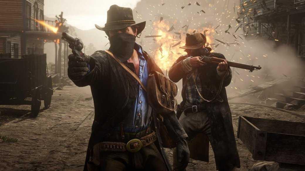 Джон Марстон, Голландец и Артур Морган на новых скриншотах Red Dead Redemption 2