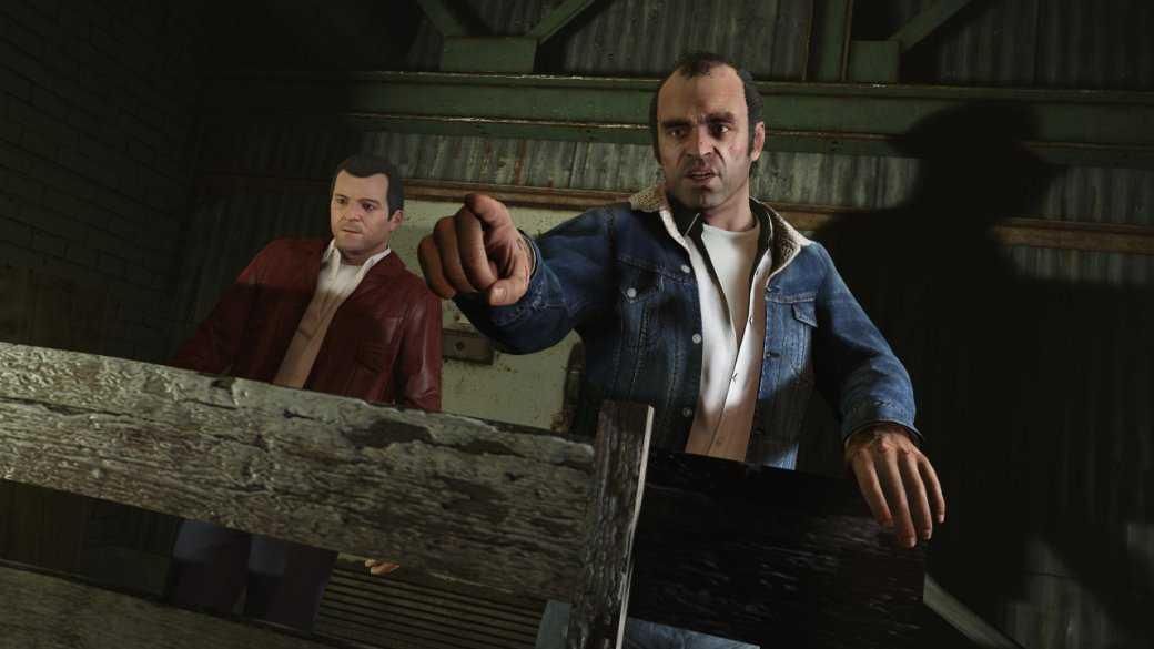 Гифка дня: трехочковое попадание в Grand Theft Auto 5