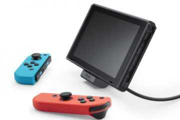 任天堂公布Switch可调节充电座 实现边充电边玩
