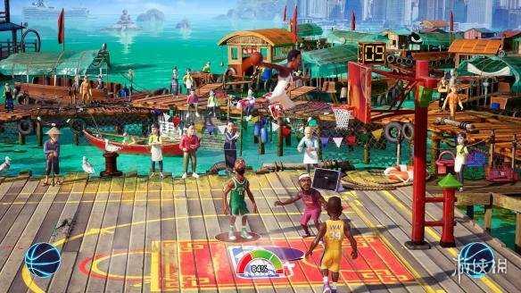 街頭運動遊戲系列新作《NBA遊樂場2》專題站上線