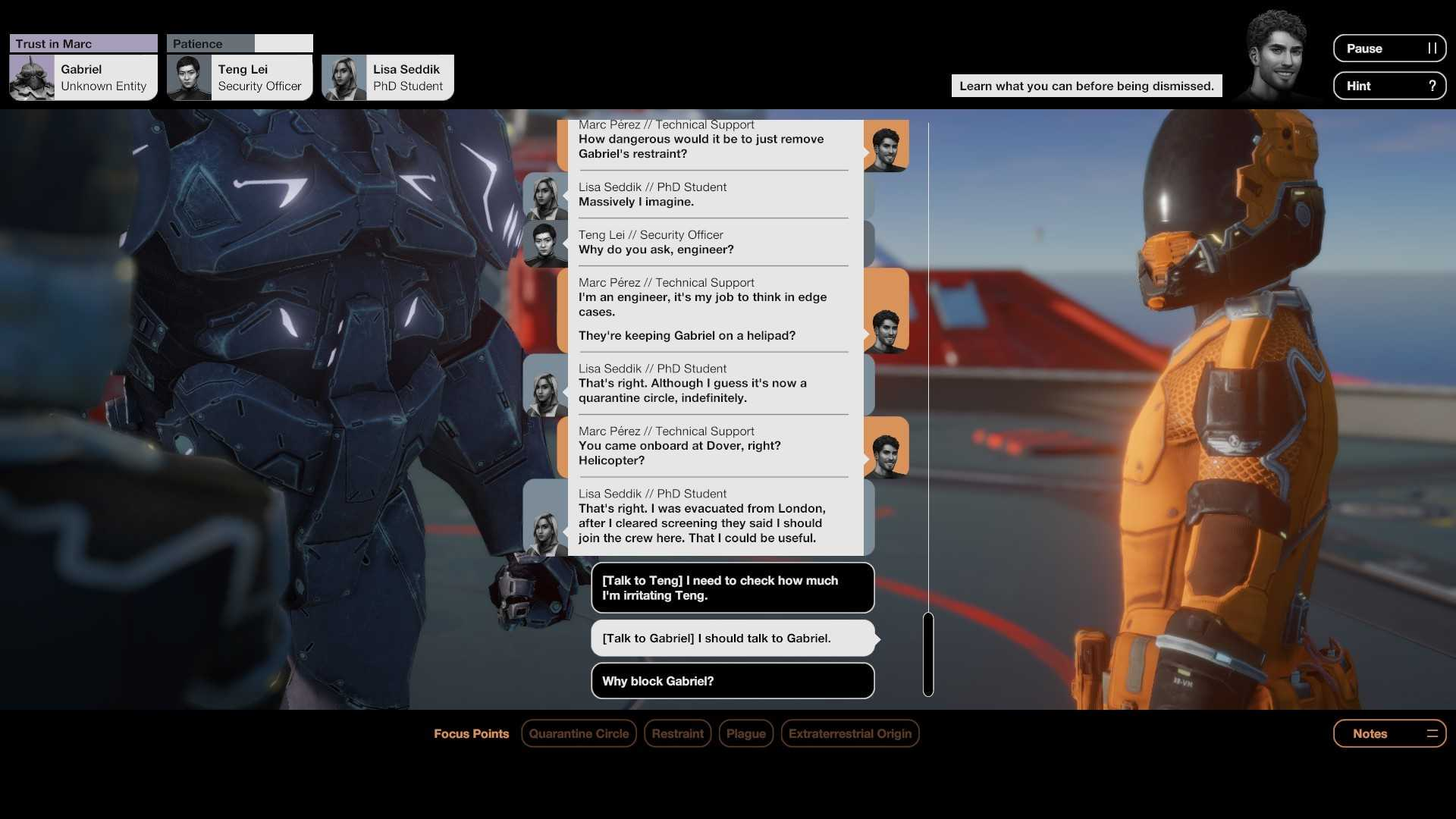Quarantine Circular Review: Who Are We, Really?