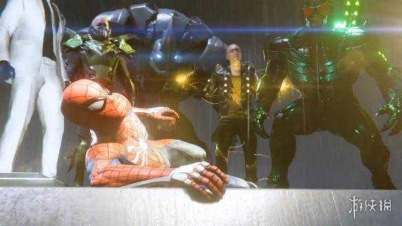 《蜘蛛侠》超长战斗演示 飞檐走壁的爽快战斗