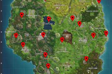 Fortnite Challenges: Carbide/Omega Poster Locations, Search Between Playground (Week 6)