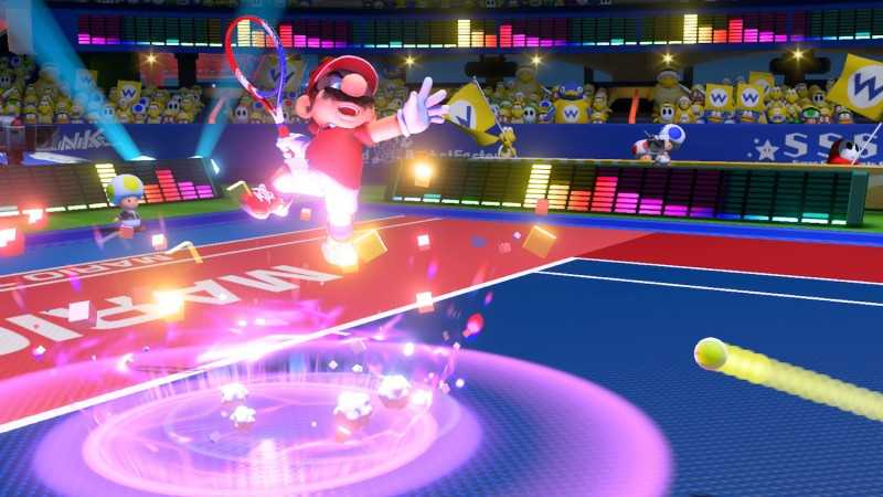 Mario Tennis Aces A Successful Return Serve
