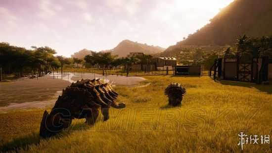 《侏罗纪世界进化》恐龙驯养及建筑系统试玩心得 侏罗纪世界进化好玩吗