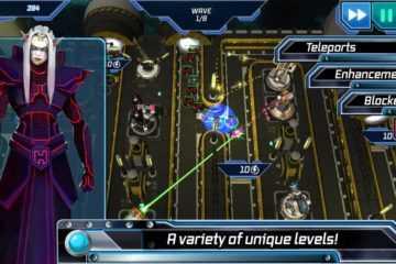 Module TD. Sci Fi Tower Defense