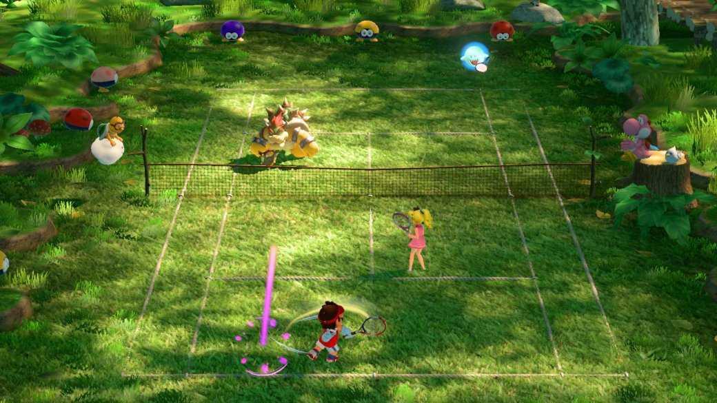 Рецензия на Mario Tennis Aces