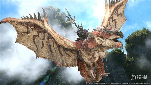《最终幻想14》联动《怪物猎人:世界》奖励公布 雄火龙坐骑让龙骑终于能骑龙了