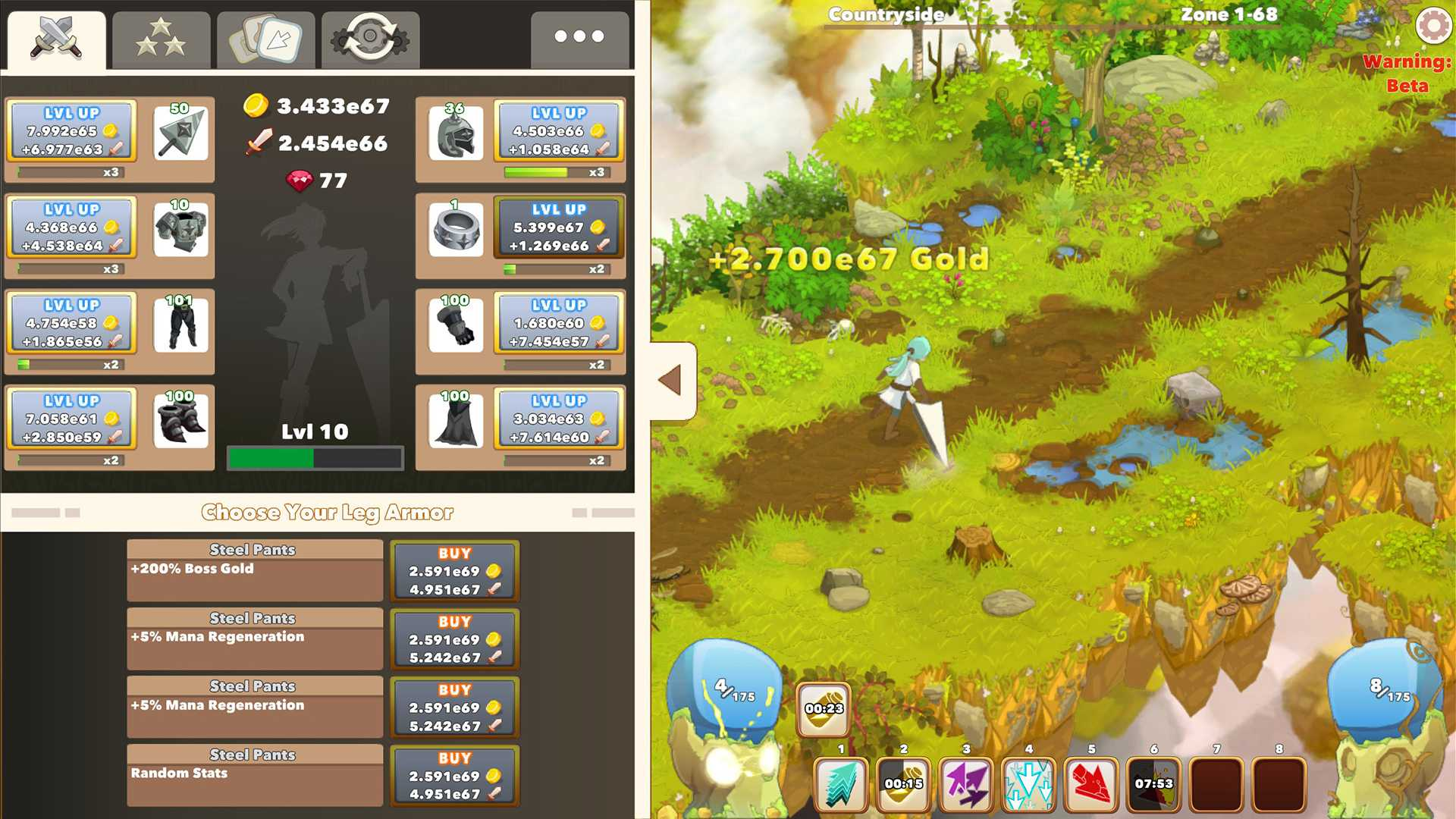 Clicker Heroes 2 wants to be so much more than a clicker game - and that's the problem