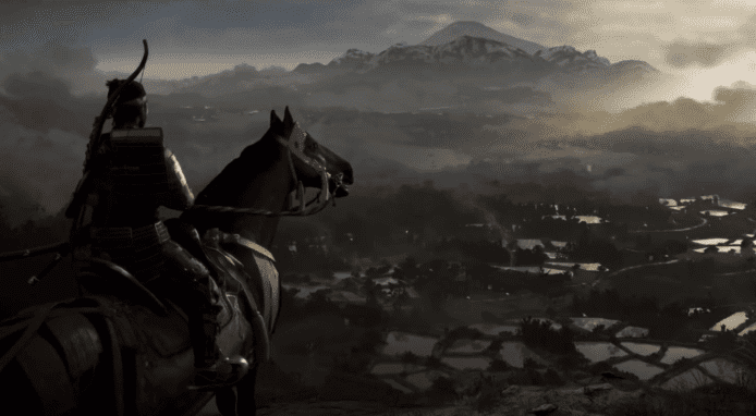 Ghost of Tsushima 对马幽魂-真机示范 史上最美的 PS4 游戏