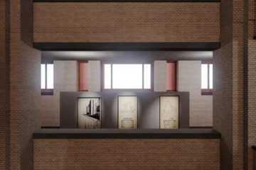 Larkin building by Frank Lloyd Wright