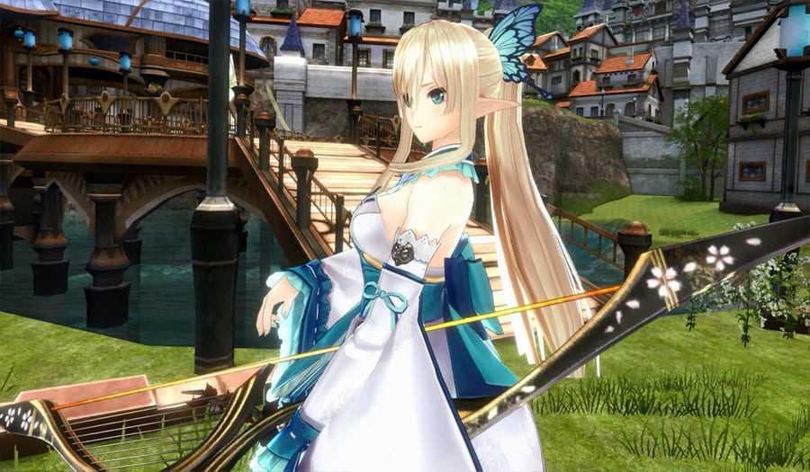 VR Figure from Shining: Kirika Towa Alma