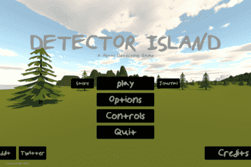 Detector Island: A Metal Detecting Game