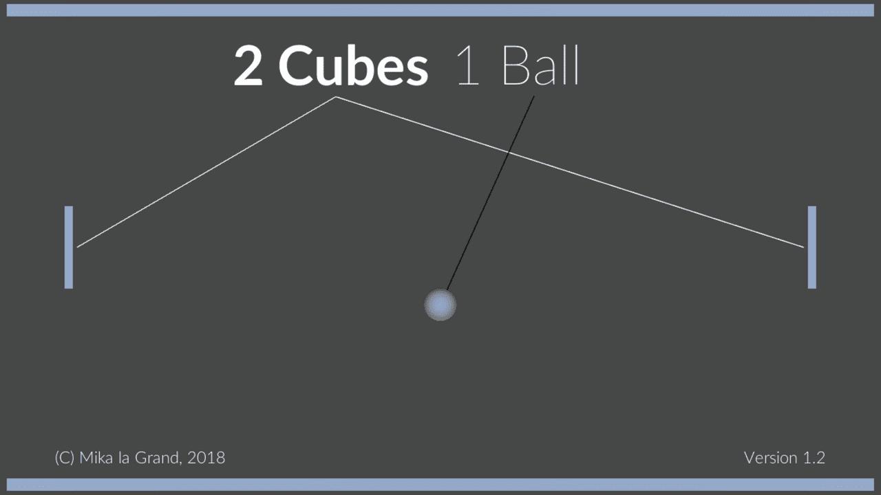 2 Cubes 1 Ball