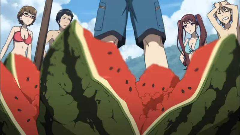 尸体变成一颗大西瓜《中国魔兽世界神和谐》原来是果菜市场啊