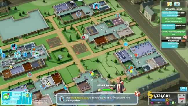 TWO POINT HOSPITAL REVIEW: \