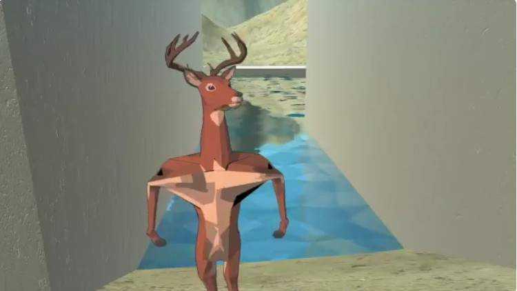 疯狂手游《非常普通的鹿游戏》根本一点都不普通的主角鹿