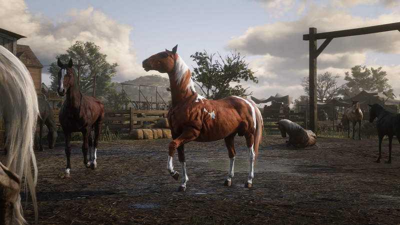 GTA团队新作《碧血狂杀2》拟真到丧心病狂(称讚意味)马的蛋蛋会随著气候热胀冷缩