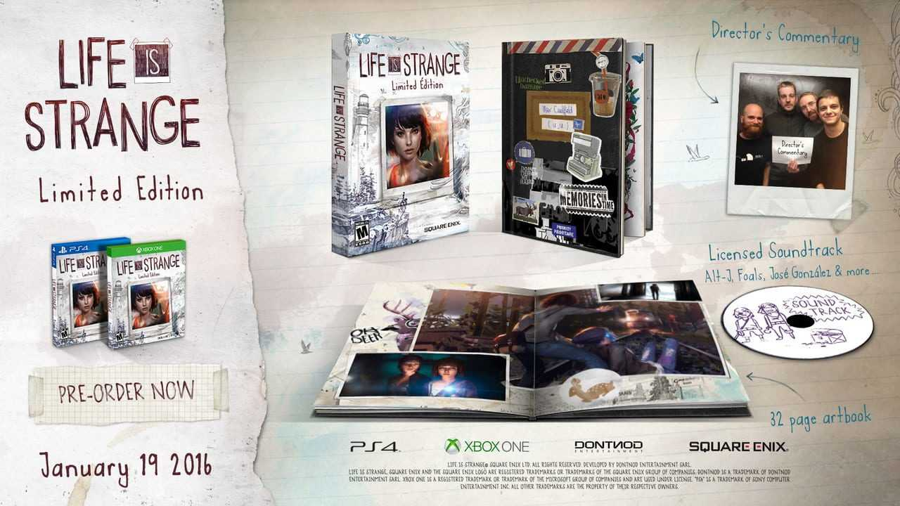 Life Is Strange: Limited Edition