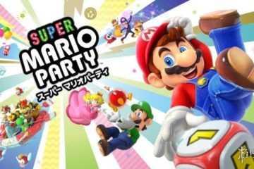 """任天堂Switch《超级马里奥聚会》Super Mario Party全新要素超详细介绍!可以轻松分享的""""游戏宝箱"""""""
