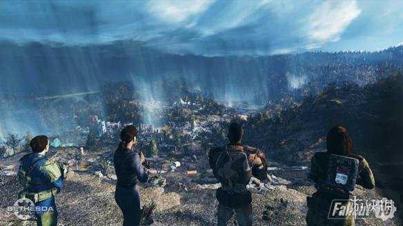 """《輻射76》Fallout 76將提供壹場""""共同獨行""""的遊戲之旅 雖能獨自遊玩但會非常困難"""