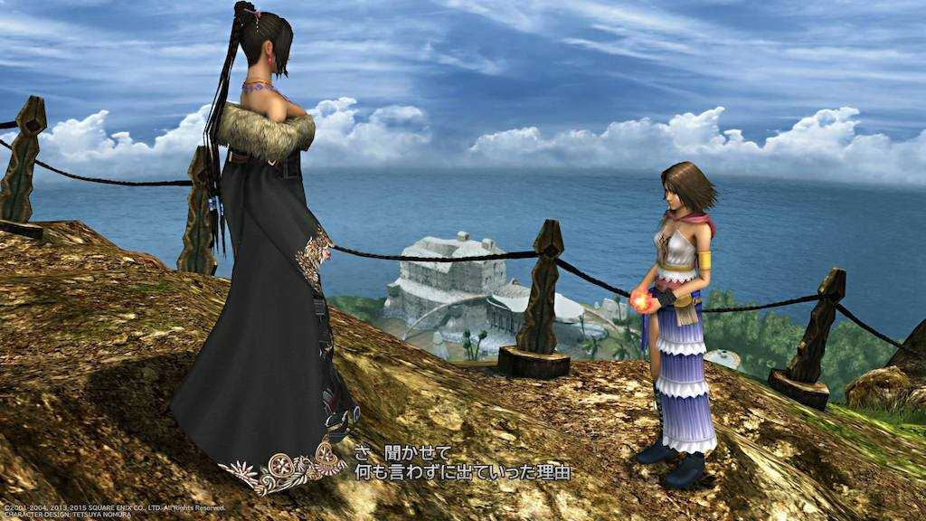 ファイナルファンタジー10-2【レビュー】せつなさを吹っ飛ばす!ユウナの旅を見届ける賑やかな女子会RPG