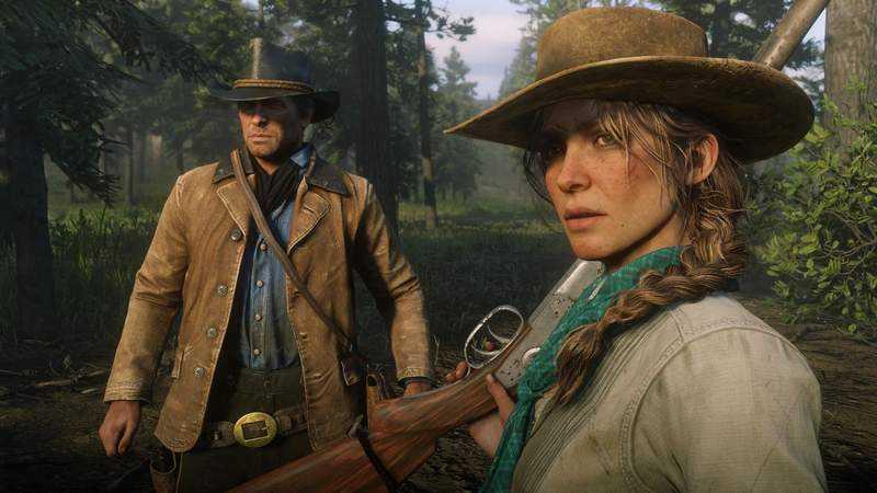 剧本迭起来高达2.4公尺《碧血狂杀2》Red Dead Redemption 2 团队透露单週工时超过100小时,网友痛批R星太血汗
