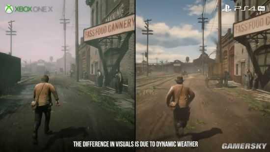 《荒野大膘客:救贖2》各主機效果對比 Xbox One X表現最好