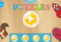 Puzzles-educational children game