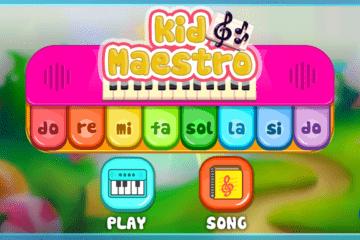 Kid Maestro - music educational game for children