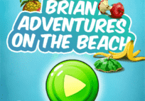 Brian adventures on the beach