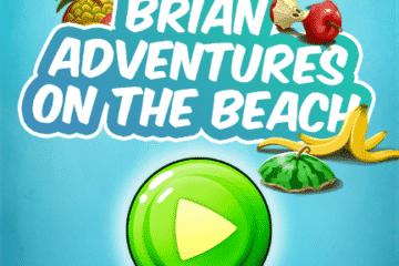 Brian adventures on the beach