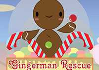 Gingerman Rescue: Find Treasures