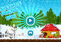 Running Man: Christmas Panda Run