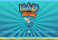 Eating fish Mad Shark