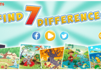 Find 7 Differences Game