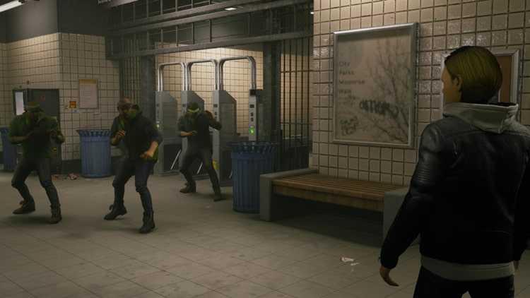 【THE QUIET MAN(ザ クワイエット マン) | PS4】評価・レビュー 無音で描かれるシネマティックアクション
