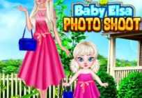 Mother And Baby Elsa Photoshoot Game
