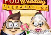 Pou Wedding Preparation Game
