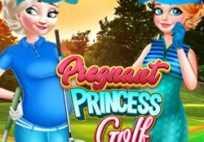 Pregnant Princess Golf Game