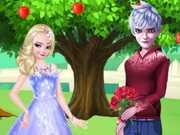 Elsa And Jack Loving Tree