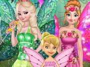 Princess Save Flower Fairy