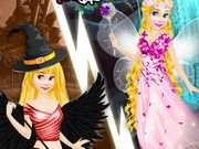 Rapunzel Devil And Angel Dress