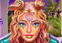 Ellie Coachella Makeup