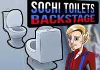 Sochi Toilets : Backstage