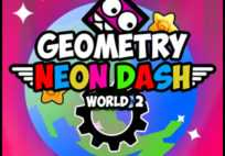 Geometry Neon Dash World Two