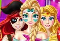 Halloween Princess Party